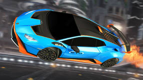 Image for Rocket League and Lamborghini team up to bring you the Huracan STO