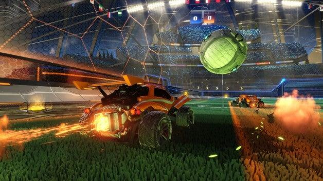 Image for Soccer smash-hit Rocket League celebrates 20 million player milestone