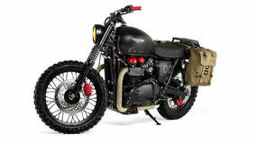 Image for Snake's Metal Gear Solid Triumph motorcycle is up for sale on eBay