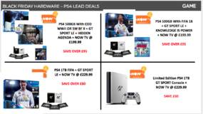 Image for GAME Black Friday deals include the cheapest Xbox One X deal yet - plus Xbox One S for £169.99