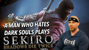 Image for A man who hates Dark Souls breaks his brain with Sekiro