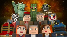 Image for Minecraft Xbox 360: the Daleks and Doctor Who have arrived