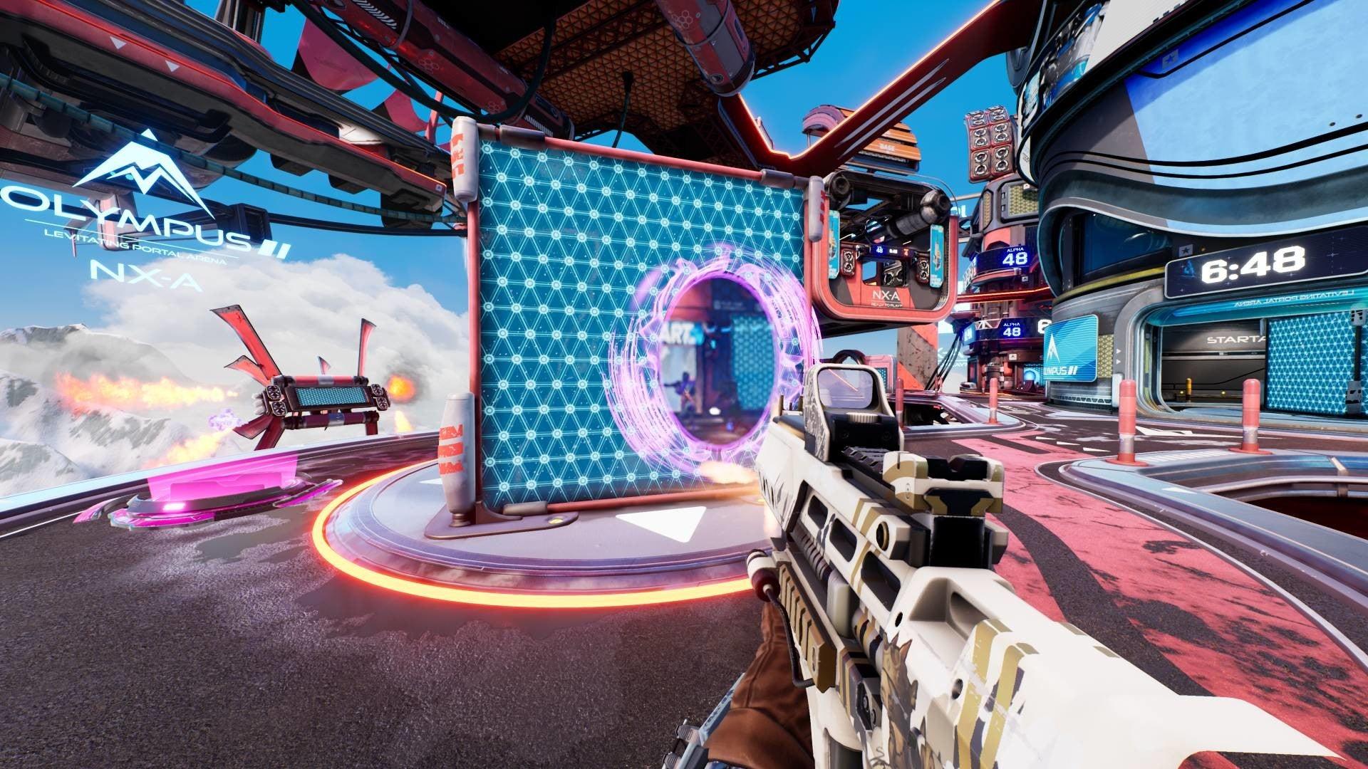 Image for Splitgate is Halo meets Portal and it's brilliant fun