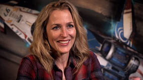 Image for Star Citizen behind the scenes video shows Gillian Anderson in action