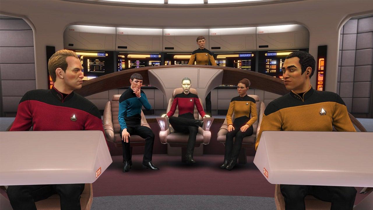 Image for Star Trek Bridge Crew DLC boldly goes into the Next Generation