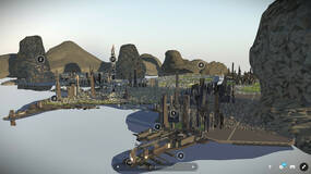 Image for Star Citizen dataminer uncovers massive city model and brings it to life