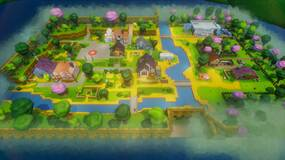 Image for Stardew Valley's Pelican Town looks lovely in 3D - created in Dreams