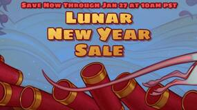 Image for Steam Lunar New Year sale is live, log in daily to earn tokens to spend on backgrounds, more
