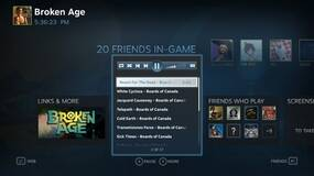 """Image for Steam Music beta """"coming soon"""" to SteamOS, allows you to play music while gaming"""