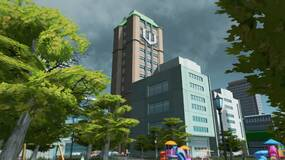 Image for Cities: Skylines players should check out Nakatomi Plaza and Wayne Enterprises