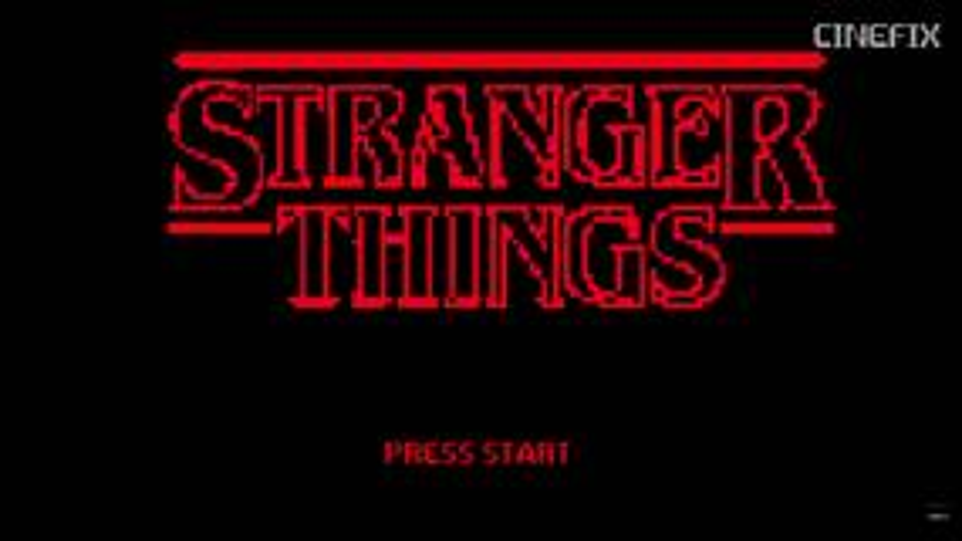 Image for Stranger Things gets an 8-bit videogame makeover courtesy of 8-bit Cinema