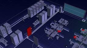 """Image for First screens of Introversion's """"blueprint"""" style game Subversion released"""