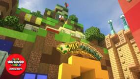 Image for Super Nintendo World is coming to Minecraft