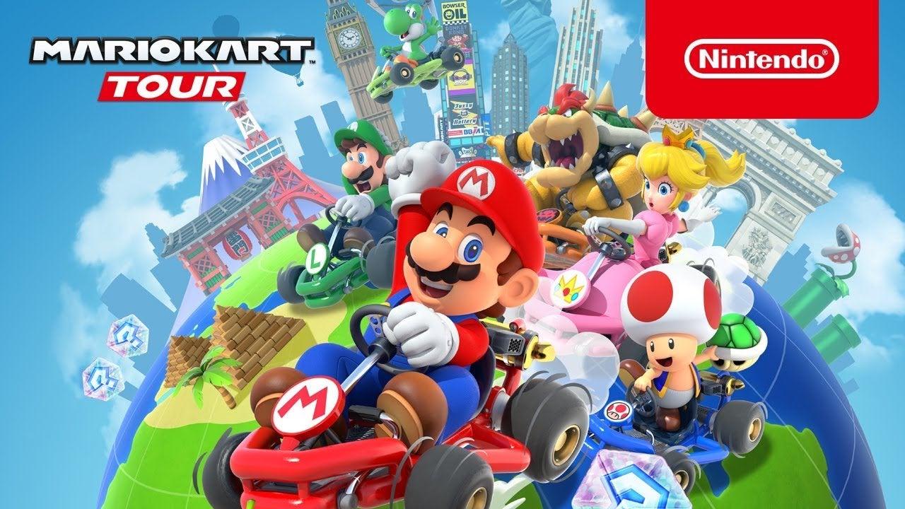 Image for Mario Kart Tour: servers down for maintenance before New York race start time
