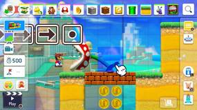 Image for Super Mario Maker 2 FAQ: how to change character to play as Luigi, Toad or Toadette and how to save