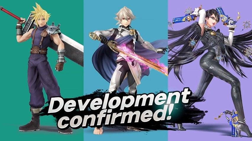 Image for Ryu, Roy, R.O.B. Amiibo dated, Cloud, Bayonetta and Corrin inbound