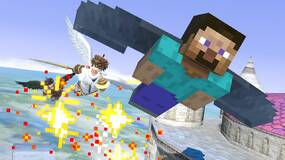 Image for It's taken over five years to get Minecraft characters in Super Smash Bros.