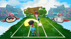 Image for Harmonix announces Super Beat Sports, a musical sports game for Switch with shades of Rhythm Heaven