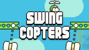 Image for Prepare your thumbs: Swing Copters is the new game from the creator of Flappy Bird
