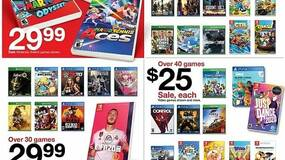 Image for Target Black Friday offers include over 100 games for $15 each