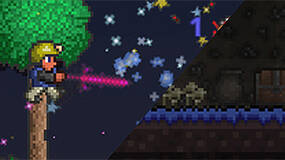 Image for Terraria console gameplay: from tutorial to dungeon crawling