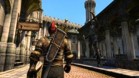 Image for Skyblivion, the Oblivion remake made in Skyrim's engine, shows off some early gameplay