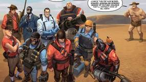 Image for Team Fortress 2 Catch-Up Comic released as part of Free Comic Book Day