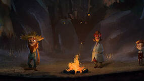 Image for The Cave character trailer highlights the Hillbilly, Monk, Scientist, and the Twins