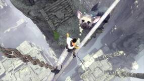 Image for The Last Guardian walkthrough part 10: Climb the spiral staircases, destroy the glass eyes, the leap of faith