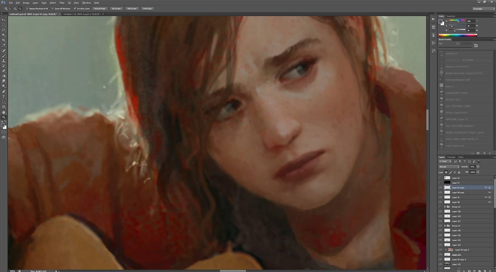 Image for UPDATE: The Last of Us Ellie image is fan art