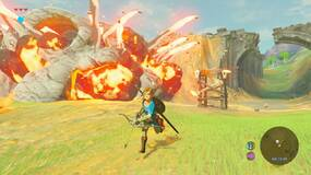Image for New The Legendof Zelda: Breath of the Wild clips take a look at paragliding, various arrows