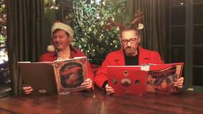 Image for Watch the voices of Solid and Liquid Snake perform bizarre Metal Gear Christmas poem