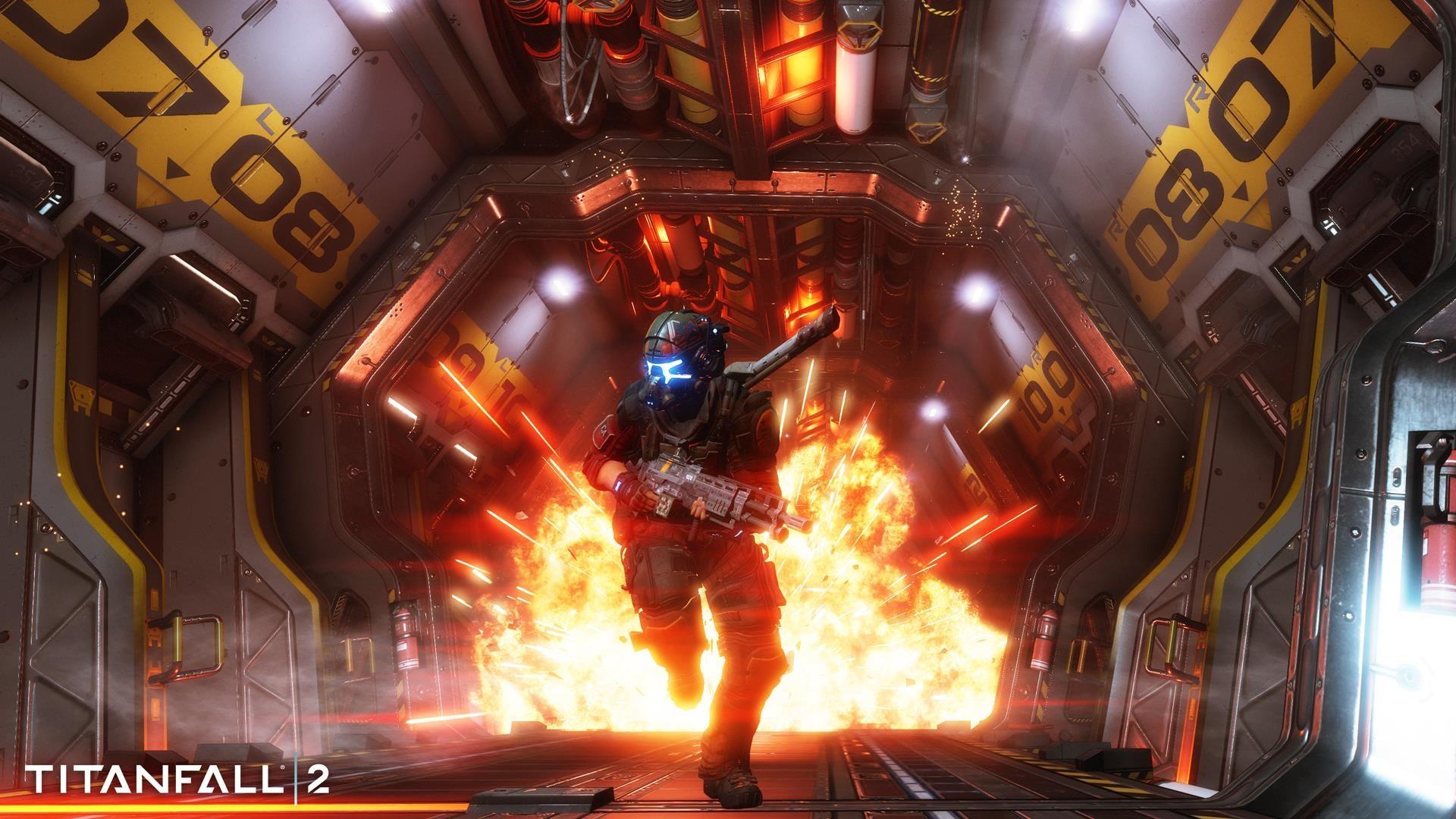 Image for Titanfall 2 Angel City patch balances Cloak, nerfs Volt, adds stats menu, more