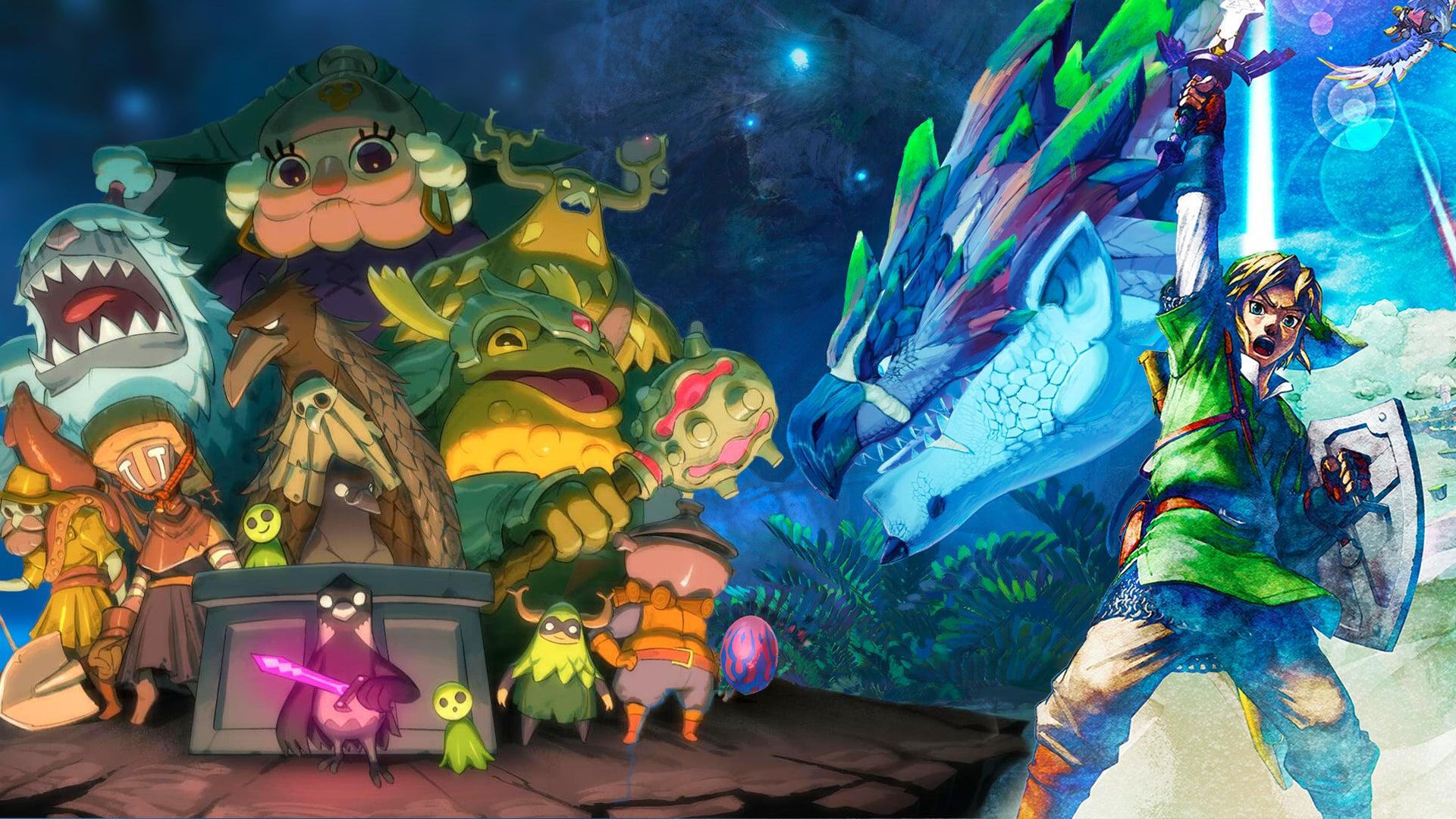 Image for Top 7 games releasing in July - Monster Hunter, Zelda, Death's Door, and more