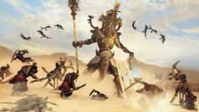 Image for Total War: Warhammer 2 takes you into the Tomb Kings' lair - then kills most of your army - in this new DLC trailer
