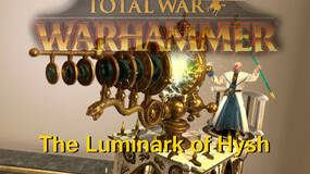 Image for The Luminark of Hysh is one of Total War: Warhammer's more unique units
