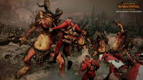 Image for New Total War: Warhammer gameplay shows Greenskin Lord commanding his troops