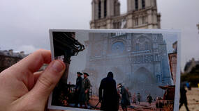 Image for These photos compare the Paris of Assassin's Creed: Unity to the Paris of today