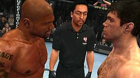 Image for This UFC glitch catapults fighters into space