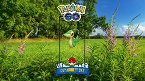 Image for Snivy is the featured Pokemon for April's Pokemon Go Community Day