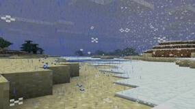 Image for Next Minecraft update will include rain and snow effects