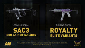 Image for Advanced Warfare SAC3 non-akimbo and Royalty Elite variants detailed and confirmed for May 19