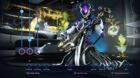 Image for Warframe's Saint of Altra update adds an ultra-fast suit and, uh, a guitar minigame