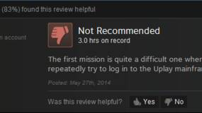 """Image for """"uDontplay"""": Steam reviewers aren't too pleased about Watch Dogs"""
