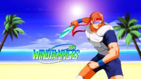 Image for Windjammers Nintendo Switch release announced with the perfect 90s inspired trailer