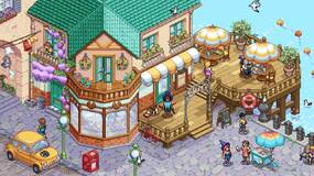 Image for Witchbrook re-revealed by Chucklefish with new isometric pixel art style