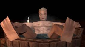 Image for Check out this PS1 demake of The Witcher 3