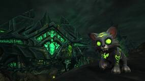 Image for This year's World of Warcraft charity pet is an adorable Fel Kitty named Mischief