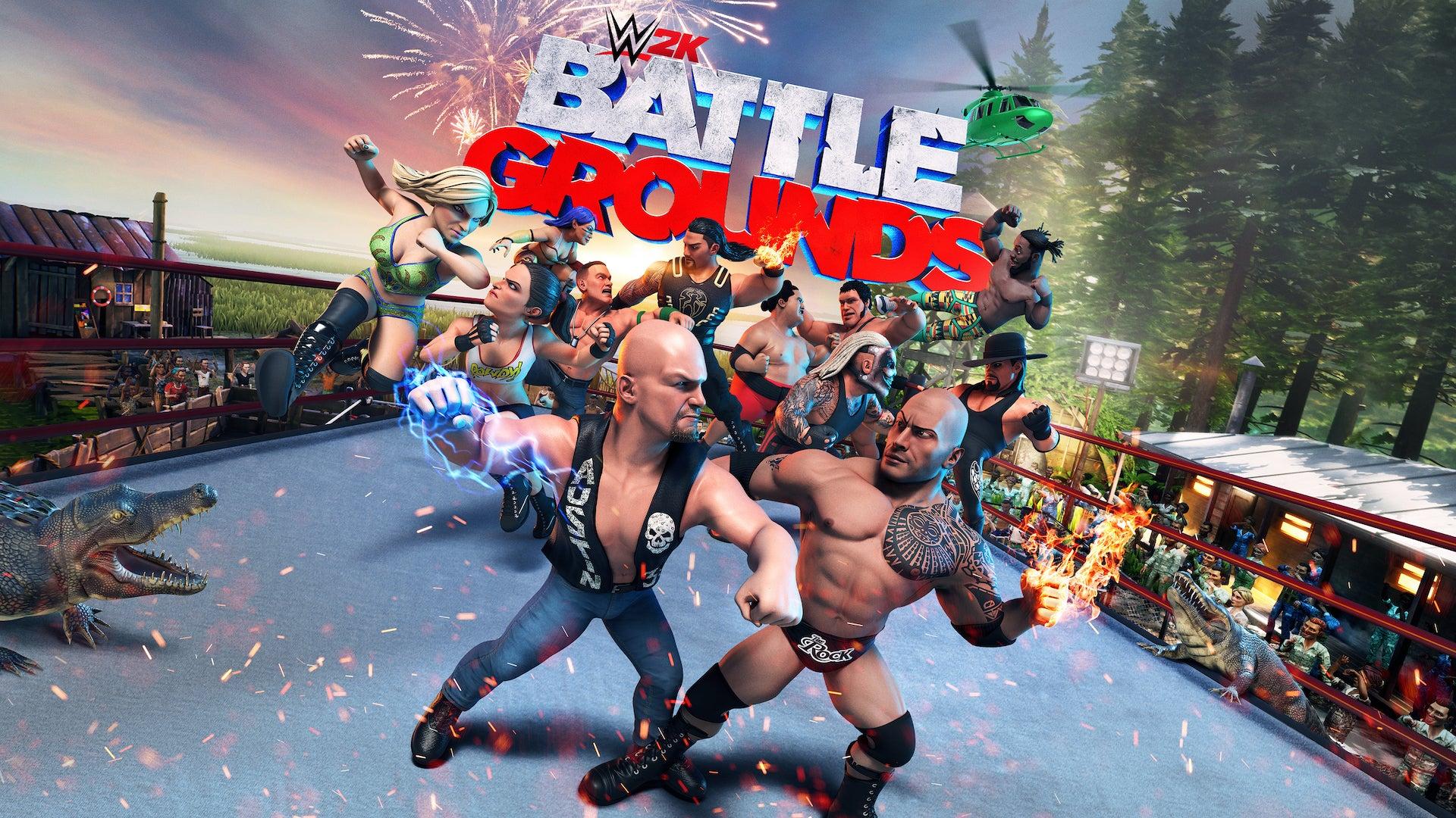 Image for Arcade-style brawler WWE 2K Battlegrounds will release in September