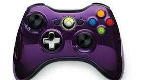 Image for Xbox 360 chrome controllers revealed in black & purple